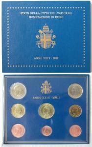 Ватиканские монеты (выпуск 2002 года)
