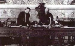 Подписание Латеранских соглашений