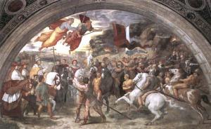 Рафаэль. Встреча Льва Великого и Аттилы.